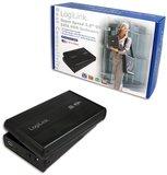 "3.5"" LogiLink Enclosure USB3.0 / SATA / Zwart_"