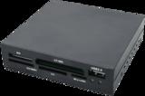 "3,5"" LogiLink All-in-One Zwart Plastic USB 2.0_"