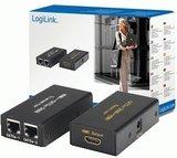 HDMI 1.4 Extender max. 30 meter via Cat5e LogiLink_
