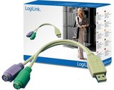 Adapter USB --> 2xPS/2 LogiLink_