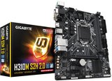 Gigabyte 1151 H310M S2H 2.0 - HDMI/DVI/VGA/µATX_