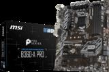 MSI 1151 B360-A Pro - M.2/DP/DVI/ATX_