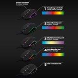 PL3301 Gaming Muis met RGB-verlichting en 1200-2400-3200-4800 DPI_