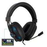 PL3321 Over-ear Gaming Headset met microfoon en RGB leds_