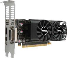 MSI NVIDIA GTX1050Ti 4GT Low Profile