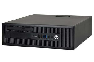 HP Prodesk 600 G1 - Intel Core i3-4130 - 4GB - 500GB - DVD RW - Windows 10 Pro