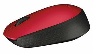 Logitech M171 Optical USB Rood-Zwart Retail Wireless
