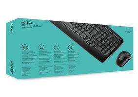 BE DT Logitech MK330 Zwart draadloos Retail