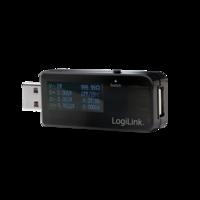LogiLink Energiemeter 1-poort USB met 4 decimalen