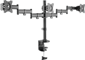 Desk mount triple LogiLink Tilt/Swivel 13