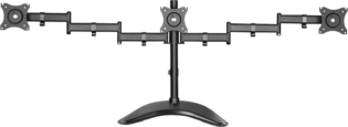 Desk stand triple LogiLink Tilt/Swivel 13