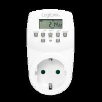 LogiLink Stekkerdoos met digitale timer