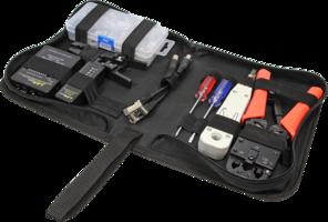LogiLink Netwerk Tool-Kit incl. Tas - 6 delig