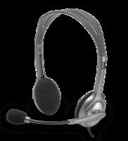 Logitech Stereo Headset H110 grijs
