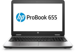 HP ProBook 655 G2 AMD Pro A8-8600B R6 - 4GB - 128GB SSD -DVD-RW - 15.6 - Windows 10 Pro