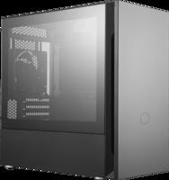 Cooler Master Silencio S400 - TG/USB3.2/Midi/µATX