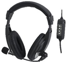 LogiLink Stereo Headset met High Comfort en Microphone