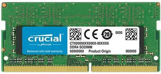 SO DIMM 16GB/DDR4 2400 Crucial CL17 Retail