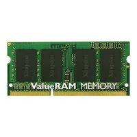 SO DIMM 8GB/DDR3 1333 Kingston ValueRAM CL9 Retail