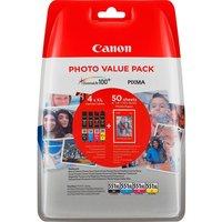 Canon (E) CLI-551XL C/M/Y/BK ValuePack 44,0ml (Origineel