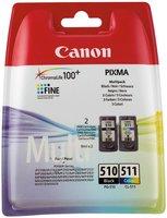 Canon (K) PG-510/CL-511 Multipack 18,0ml (Origineel)