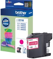 Brother LC-221M Magenta 3,9ml (Origineel)