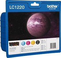 Brother LC-1220 Value Pack 22,2ml (Origineel)