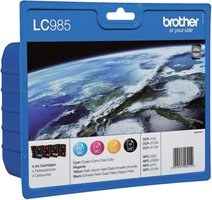 Brother LC-985 Rainbowpack 28,2ml (Origineel)