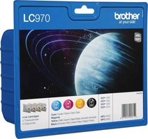 Brother LC-970 Value Pack 32,0ml (Origineel)