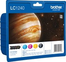 Brother LC-1240 Value Pack 35,2ml (Origineel)