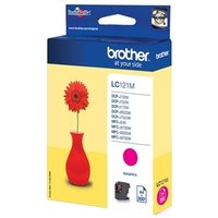 Brother LC-121M Magenta 3,9ml (Origineel)