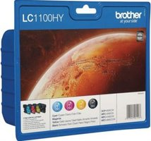 Brother LC-1100 Value Pack 67,0ml (Origineel)