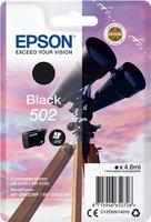Epson 502 Singelpack Zwart 4,6ml (Origineel)