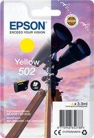 Epson 502 Singelpack Geel 3,3ml (Origineel)