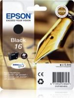 Epson T1621 Zwart 5,4ml (Origineel)