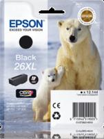 Epson T2621XL Zwart 12,2ml (Origineel)