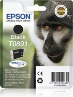 Epson T0891 Zwart 5,8ml (Origineel)