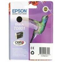Epson T0801 Zwart 7,4ml (Origineel)