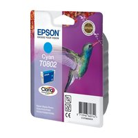 Epson T0802 Cyaan 7,4ml (Origineel)