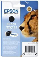 Epson T0711 Zwart 7,4ml (Origineel)