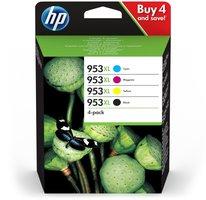 HP No.953XL 4-Pack C,M,Y,K 104,0ml (Origineel)