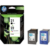 HP No. 21/22 Combo Pack 10ml (Origineel)