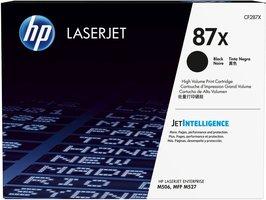 HP No. 87X Zwart 18.000 pagina`s (Origineel)
