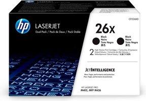 HP No. 26X Zwart 9.000 pagina`s (Origineel) CF226X