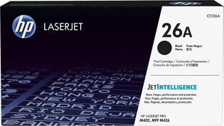HP No. 26A Zwart 3.100 pagina`s (Origineel)