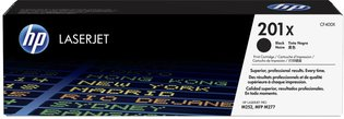 HP No.201X Zwart 2.800 pagina`s (Origineel)