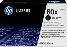 HP No. 80X Zwart 6.900 pagina`s (Origineel)
