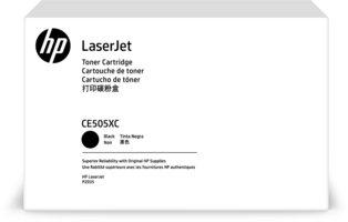 HP No. 5X Zwart 6.500 pagina`s (Origineel) CE505X