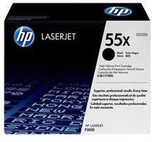 HP No. 55X Zwart 12.500 pagina`s (Origineel) CE255X