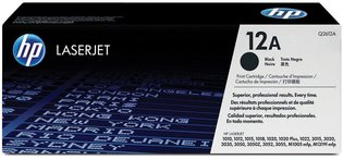 HP No. 12A Zwart 2.000 pagina`s (Origineel)